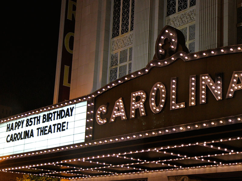 carolina theatre technical specifications carolina